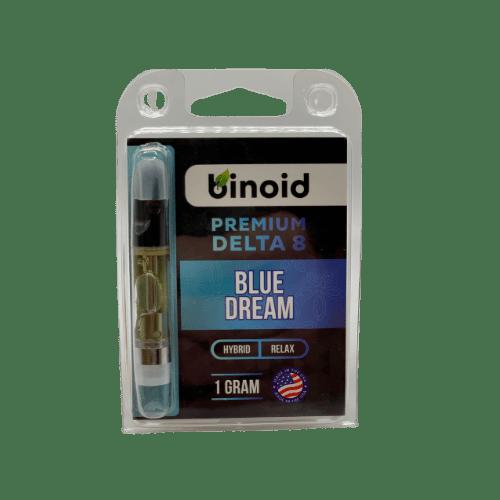 binoid delta 8 vape cart - blue dream