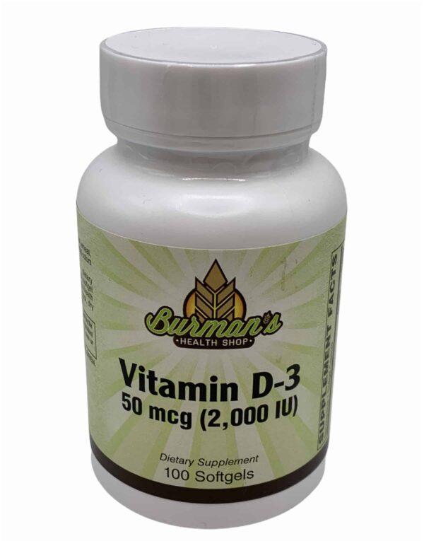 vitamin d3 softgels
