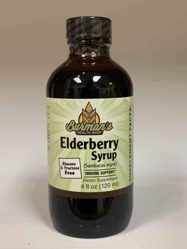 elderberry sugar free syrup 120 ml