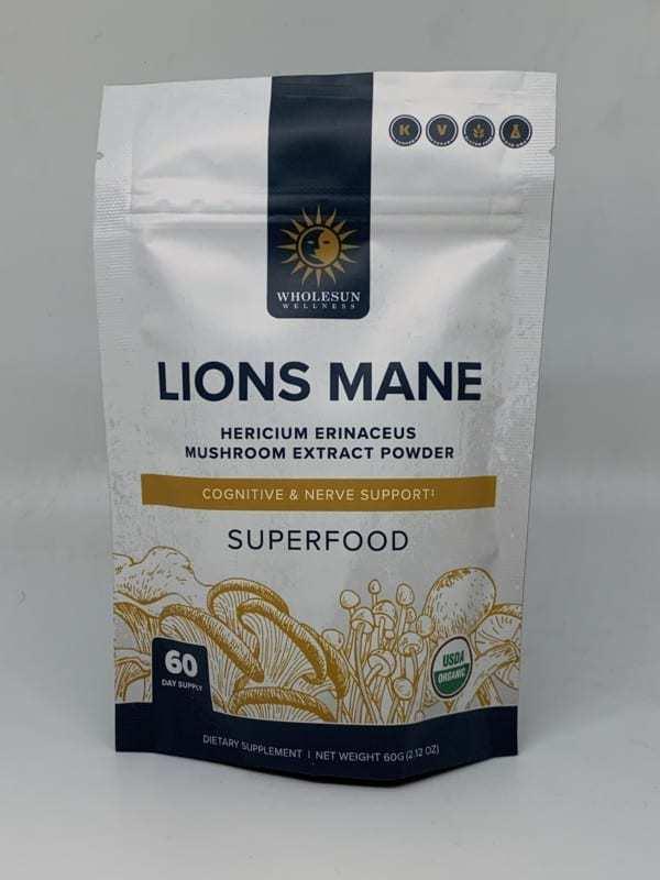 lions mane powder