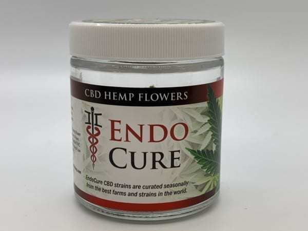 EndoCure CBD Flower Jars