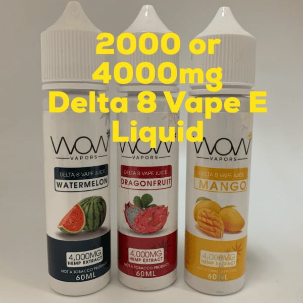 WoW Vapors Delta 8 THC Vape E-Liquid