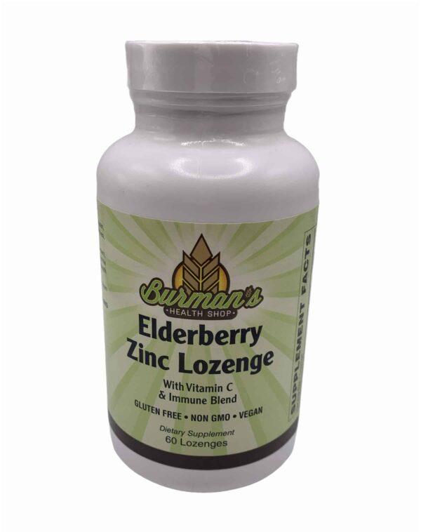 Elderberry Zinc Lozenge