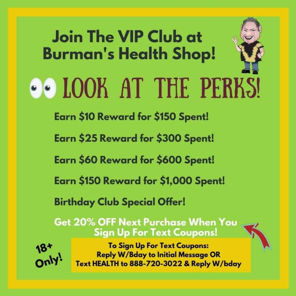 Burmans VIP Rewards
