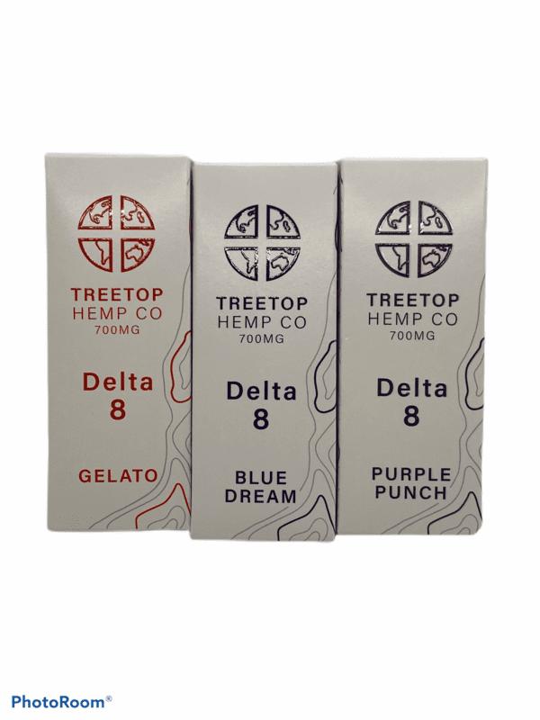 TREETOP Delta 8 THC Cartridges