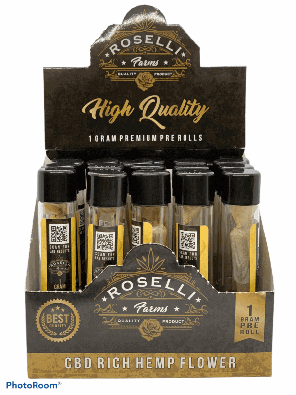 Roselli Farms Prerolled CBD/CBG