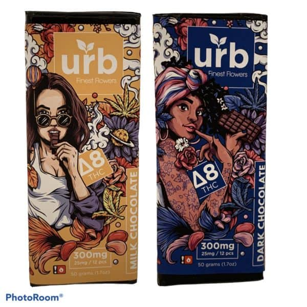 delta 8 urb chocolate bars