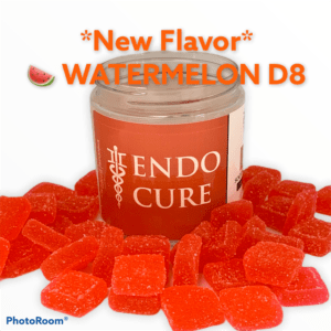 EndoCure Delta 8 Watermelon Gummies 1000mg