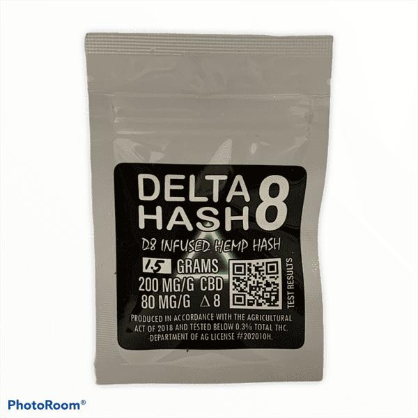 Delta 8 THC Hash