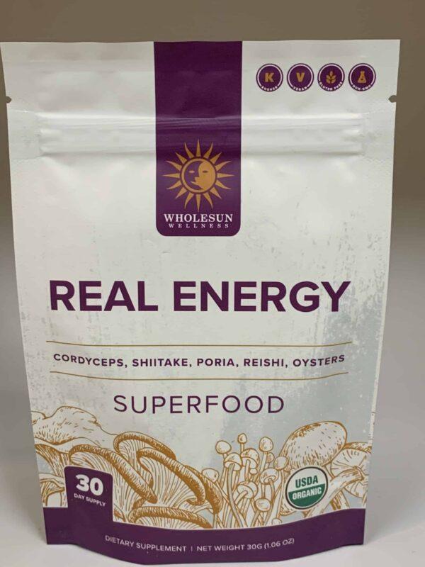 Real Energy Mushroom Blend