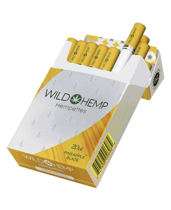 Wild Hemp Cigarettes Pineapple Blaze Pack
