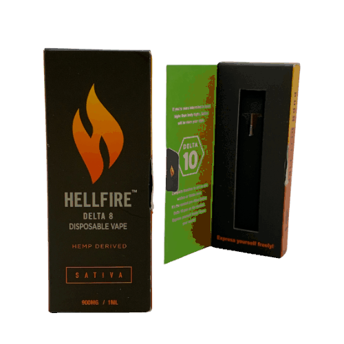hellfire delta 10 vape
