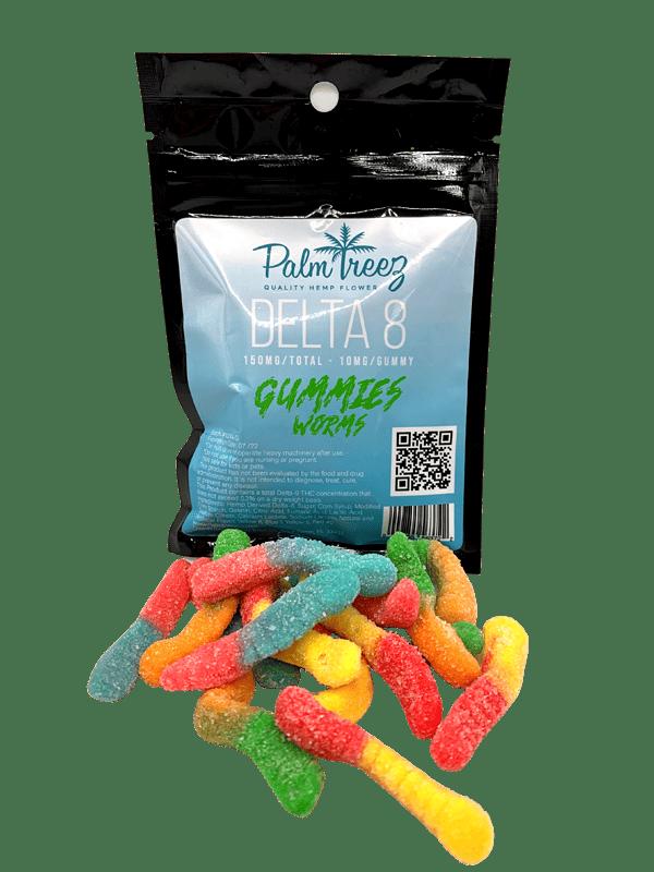 Palm Treez Delta 8 Gummy worms