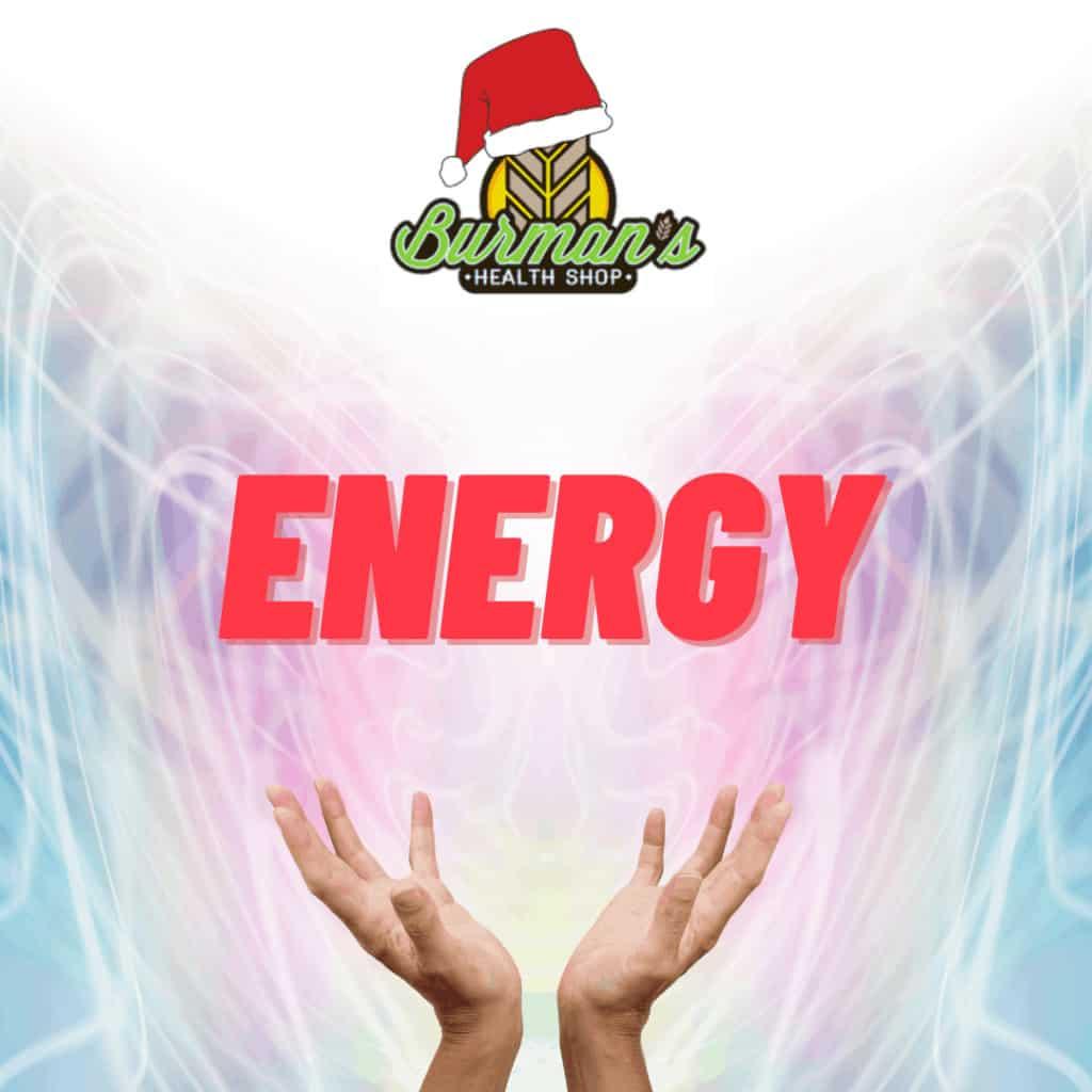 Energy at Burmans Health Shop