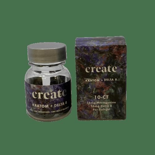 create kratom delta 8