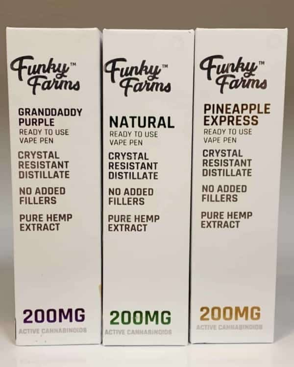 Funky Farms Ready To Use Vape Carts 200mg