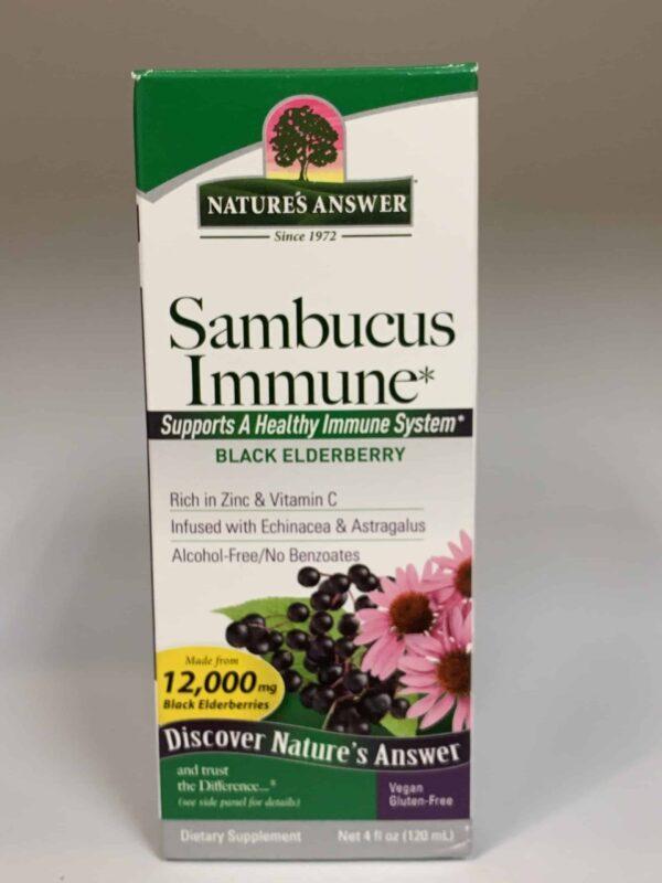 Sambucus immune