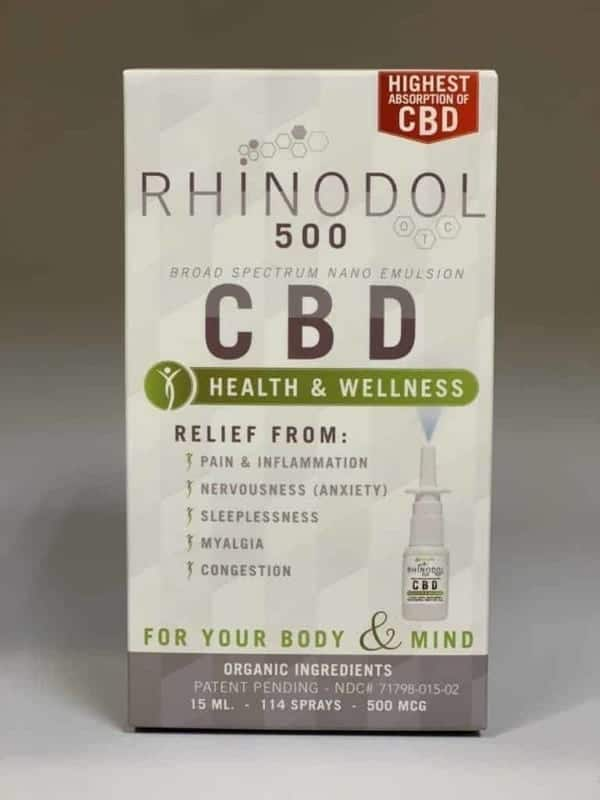 Rhinodol CBD Nasal Spray