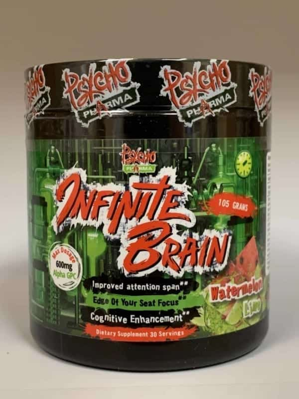infinite brain cognitive enhancement bottle