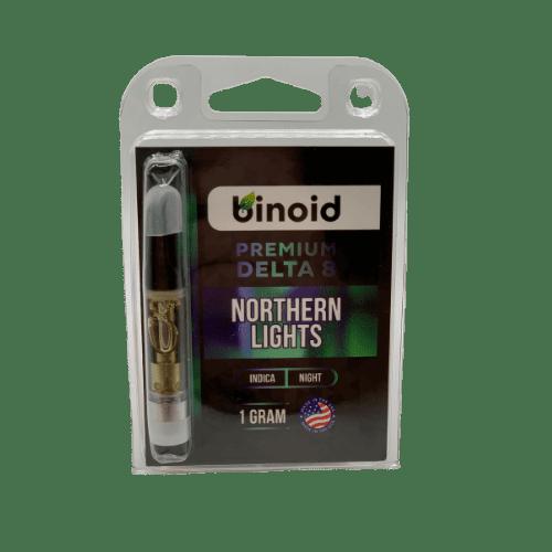 binoid delta 8 vape cart - northern lights