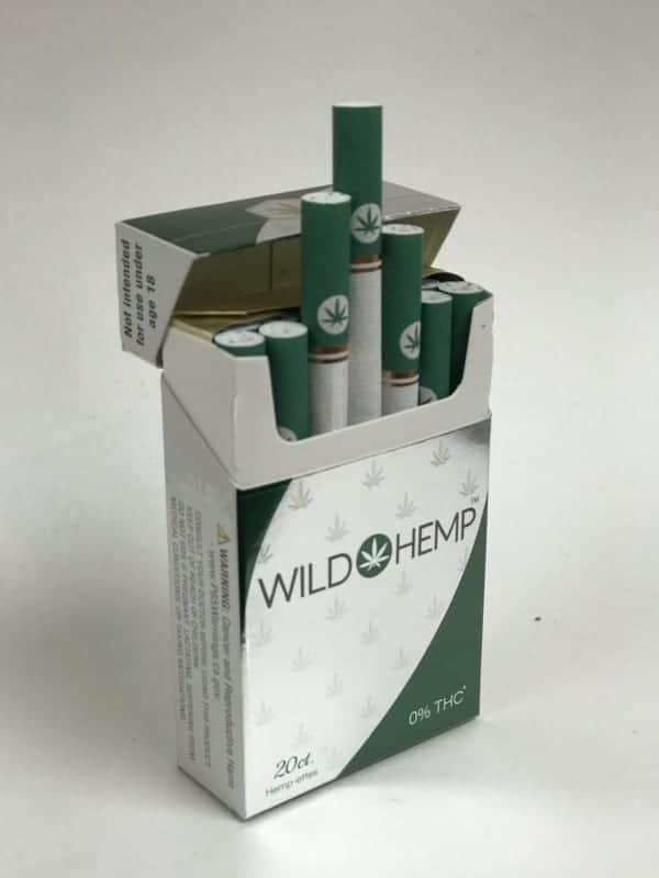 Wild Hemp Cigarettes Nicotine Free